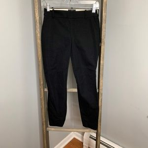 J. Crew Black Skinny Minnie Pants